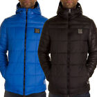 Mens Padded Jacket Voi Jeans New Designer Quilted Puffer Hooded Windbreaker Coat