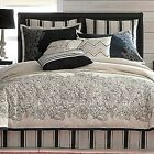 JCPenney Linden Street Embroidered ROCHELLE 4 PIECE KING Comforter Set