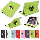 360°Retating Leather Smart Case Cover for iPad Air 2 6th + Screen Shield &Stylus