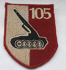 vietnam american war  105th  mobile gun battery vietnamese made patch