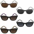 Ladies Wayfarer Designer Sunglasses 80s Retro Geek Vintage UV400 Fashion Shades