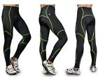 Green Men Cycling Clothing Bike Bicycle Pants with 3D GEL Padded Size S~XXXL