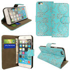 MAGNETIC FLIP WALLET LEATHER CARD CASE STAND COVER FOR iPhone 6 PLUS 5C 5S SE 4S <br/> Free Screen Protector ✔ RM First Class Post ✔ UK Seller
