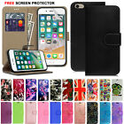 MAGNETIC FLIP WALLET LEATHER CARD CASE STAND COVER FOR iPhone 6 PLUS 5C 5S SE 4S