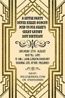 10 x Great Gatsby Personalised Birthday Party Invitations,Thank you Cards