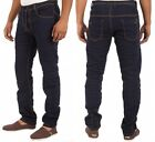 Mens New Jeans Branded Designer EM438 In Dark Blue Colour Regular fit Sale Price
