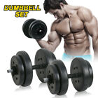 New Dumbbell Dumbbells Set Weights Training Exercise Gym Workout Fitness Biceps