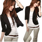 New Temperament Slim Small Suit Three Quarter Sleeve Jacket Outwear Reliable