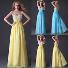 CLEARANCE 2015 Long Formal Evening Bridesmaid Prom Party GRAD Maxi Dresses Gowns