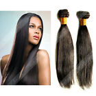 7A Unprocessed 100% Brazilian Virgin Remy Human Hair Extensions Straight Weave