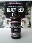 100% Pure Organic Black Seed Oil Edible Cold Pressed Cumin Nigella Sativa