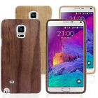 Wooden Bamboo Wood Hard Shell Case Cover for Samsung Galaxy Note 4 New Stylish