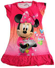 Minnie Mouse Girls Children Kids Pyjama Nightwear Nightie Dress 3-10 Yr Hot Pink