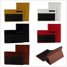 Leather Stand Case Cover+Bluetooth Wireless keyboard for ipad mini/5 Air/6 Air 2