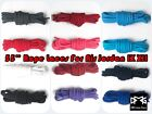 """55"""" Rope shoe laces for Air Jordan AJ 9 12 IX XII Bred TAXI FLU PLAYOFFS CHERRY"""