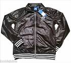 Adidas Originals Chile 62 Jacket Black Silver MC62 RIB TT Size XS, S, M & L