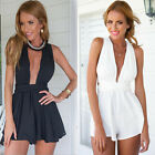 2015 Sexy Ladies Clubwear V Neck Playsuit Bodycon Party Jumpsuit&Romper Trousers