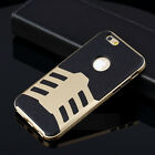 Hybrid Best Impact Dual Layer Bumper Hard Case Cover For Apple iPhone 6 / 6 Plus