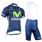 Cycling Bike Short Bib Sleeve Clothing Bicycle Sports Jersey Shorts Set