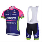 Cycling Bike Short Sleeve Clothing Bicycle Sport Jersey Bib Shorts Set