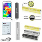 2200mAh Portable Charger External Battery Power Bank with Flashlight