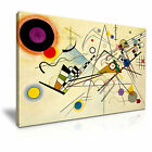 Composition VIII 1923 Wassily Kandinsky Canvas Modern Wall Art Home Deco 9 sizes