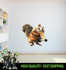 ICE AGE SCRAT ACORN SABER TOOTH SQUIRREL WALL ART GRAPHIC STICKER BEDROOM DECAL