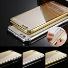 """Aluminum Ultra-thin Metal Case Mirror Back Cover Skin for iPhone 6 4.7"""" Plus 5.5"""