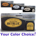 STAZON METALLIC multi-surface solvent INKPAD permanent ink stamp pad YOU CHOOSE
