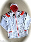 M or L ADIDAS GERMANY ANTHEM JACKET football soccer calcio Tags ZIP POCKETS