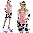 NEW LADIES MILKMAID MILK MAID YOUNG FARMERS FARM COW COUNTRY FANCY DRESS COSTUME