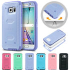 Heavy Duty Shockproof Rugged Impact Rubber Hard Case Cover for Samsung Galaxy S6