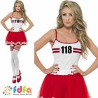 118 118 MARATHON RETRO 80s RUNNER - UK 8-18 - womens ladies fancy dress costume