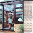 PATTERNED BAMBOO BEADED DOOR BLIND - HOME DOORWAY DECORATION - MANY PATTERNS