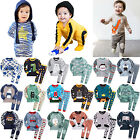 """50Styles"" Vaenait Baby Toddler Boys Clothes Sleepwear Pyjama 2 pcs Set 12M-7T"