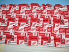 Handmade 100% Cotton Detroit Red Wings Red White  Window Curtain Valance $13.99 USD on eBay