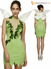 Adult Magical Fairy Tinker Size 8-18 Womens Ladies Fancy Dress Costume Fairytale