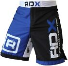 RDX Shorts UFC MMA Grappling Short Kick Boxing Mens Muay Thai Pants Gym Wear Blu