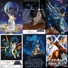 Star Wars Poster | 10 Versions | 4 Sizes | dvd bluray box set comic collector's
