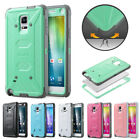 ULAK [Knox Armor] Hybrid Rugged Shockproof Case Cover For Samsung Galaxy Note 4