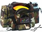 """NEW FADE """"CRUNCH"""" DISC GOLF BAG + STRAP. AWESOME """"DUDE CAMO"""" BAG camouflage"""
