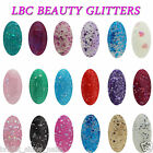 LBC UVGEL GLITTERS & NUDES COLOURS UVLED SOAK OFF NAIL GEL POLISH FREE POST