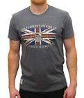 RED TORPEDO GEAR WITH GRIT BLIGHTY GUY MARTIN GRAPHITE T-SHIRT TSHIRT