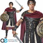 ROMAN GLADIATOR MENS FANCY DRESS COSTUME SPARTAN WARRIOR CENTURION OUTFIT