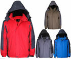 Ski Style Hooded Fleece Lined Quilted Coat Jacket  NTP1