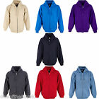 Mens Plain Zip Up Hoodies Hooded Sweatshirt Womens Zipper Hoody Zipped Top 16 18