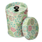 New Style Double Cover Tea Food Caddy Jewelry Storage Tins Canister Case Box 1PC