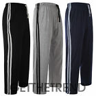 Mens Striped Lounge Full Length Trousers Mens Casual Sleep Nightwear Pants S-XL