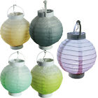 15CM ROUND PAPER LED LANTERN WEDDING BIRTHDAY DECOR PARTY SHADE HANGING NEW GIFT