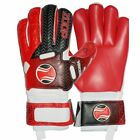 Goalkeeper Goalie Roll Finger Gloves Red Size 8/9/10.